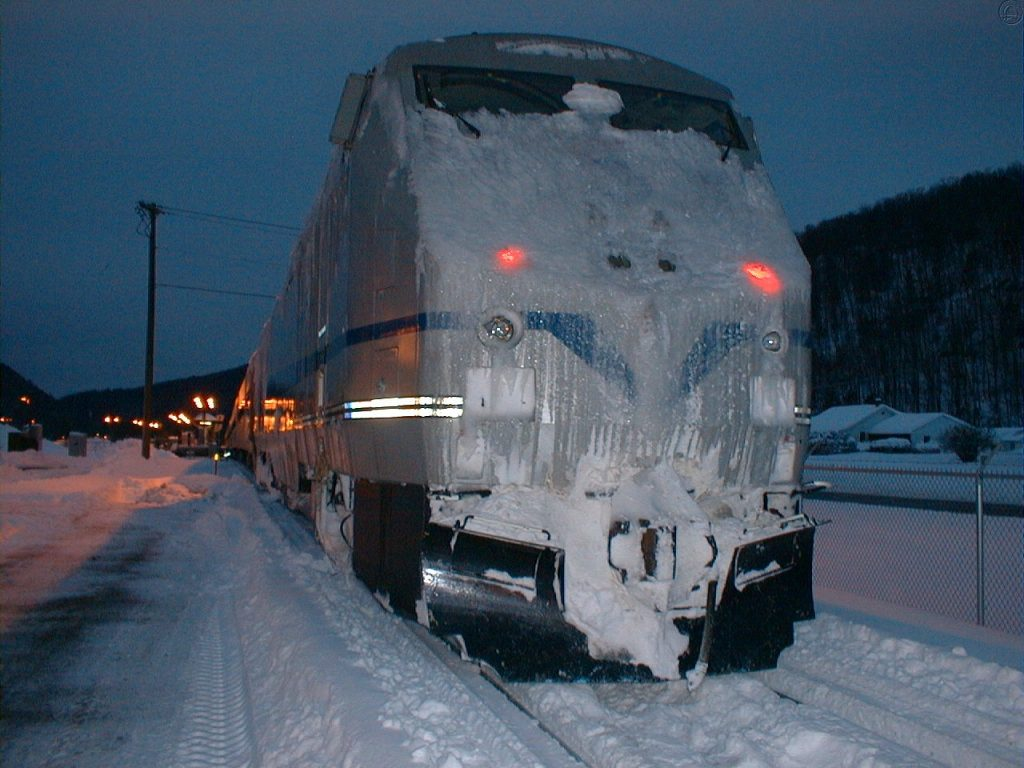 End of the line in Wassaic 2/18/2003