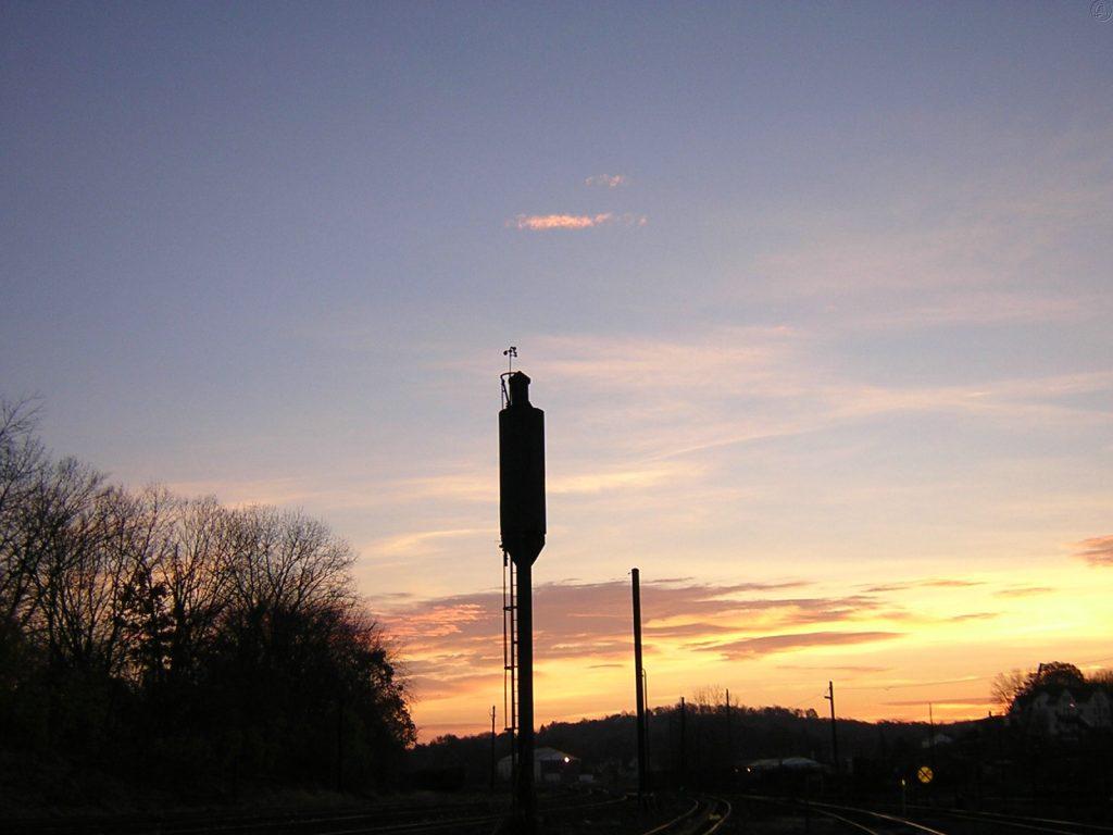 Sand tower in Danbury Yard 11/13/2004